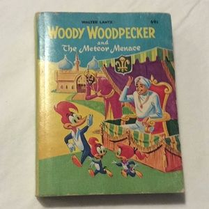 1967 Woody Woodpecker and the Meteor Menace Book